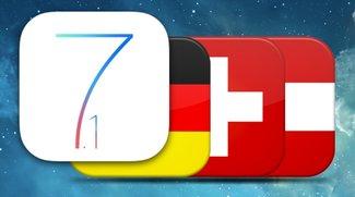 iOS 7.1: Verfügbarkeit der Funktionen in Deutschland, Österreich und Schweiz (Übersicht)