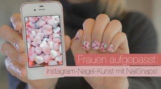 Frauen aufgepasst: Instagram-Nagel-Kunst mit NailSnaps!