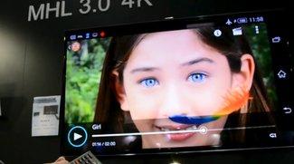 Sony Xperia Z2 &amp&#x3B; Xperia Z2 Tablet: 4K-Bildschirmausgabe per MHL 3.0 mit gleichzeitigem Laden &amp&#x3B; USB-Nutzung