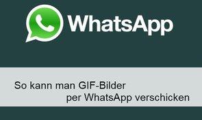 WhatsApp: GIF-Bilder...