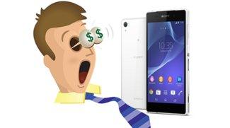 Sony hat den Deutschlandpreis für das Xperia Z2 angehoben