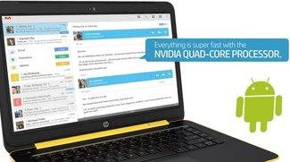 HP Slatebook 14: Touchscreen-Laptop mit Nvidia Tegra-CPU und Android-Betriebssystem