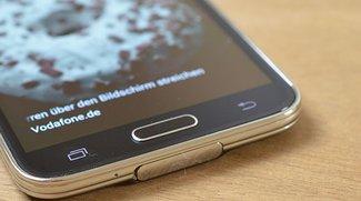 Samsung Galaxy S5: Fingerabdruckscanner einrichten, ändern und löschen