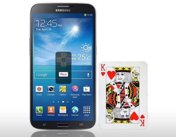 Samsung Galaxy Mega 6.3 Karte