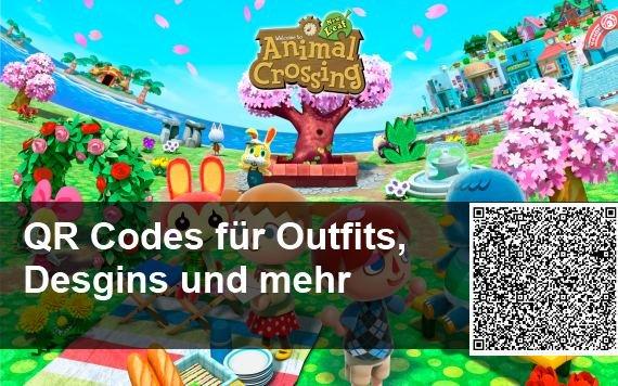 QR Codes für Animal Crossing: New Leaf – Outfits, Designs und Kleider