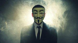 Anonymous' Guerillakrieg: Protest flutet Facebook
