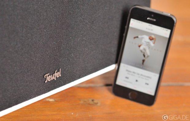 iTeufel Air Blue im Test: Soundstation mit AirPlay und Spotify (+ Rabattcode)