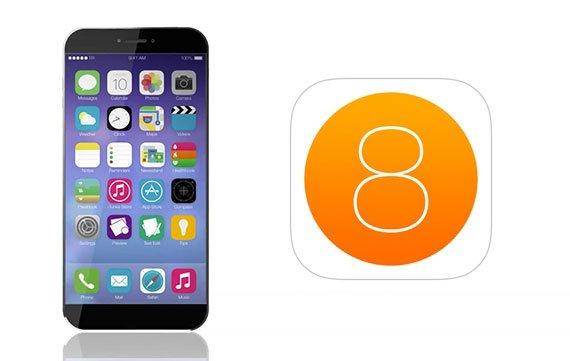 iOS 8 Features als Mockup im Video