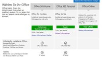 """Office 365: """"Personal""""-Option für einen Mac/PC und ein Tablet erhältlich"""