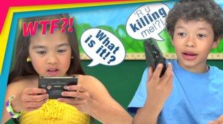 Was ist ein Walkman!? Kids entdecken die alte Technik!