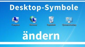 Desktop-Symbole ändern: Arbeitsplatz bei Windows 7 + Windows 8