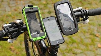 Fahrradhalterungen für iPhone im Test