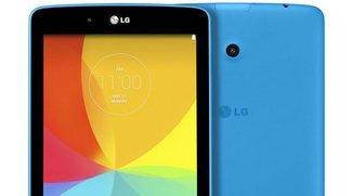 LG G Pad 7.0: Benchmark enthüllt technische Daten