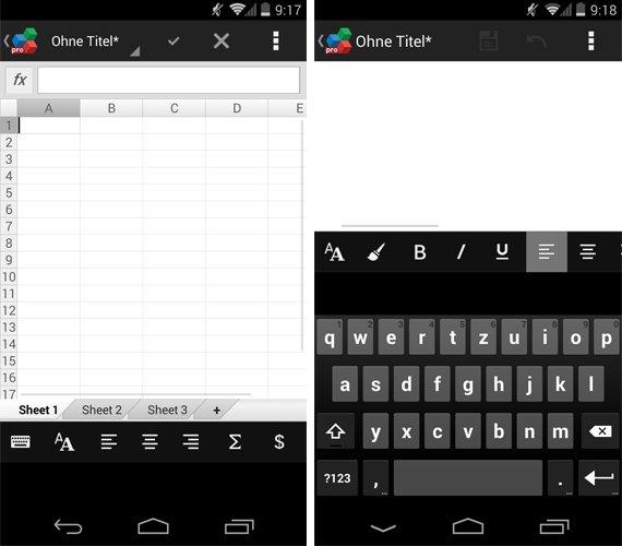 OfficeSuite-Pro-7-Text-Tabellen