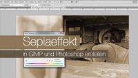 Photoshop: Sepia-Effekt nutzen – Tutorial für Photoshop und GIMP