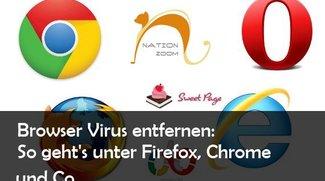 Browser-Virus entfernen: So geht es komplett und sicher