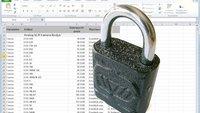 Den Excel Blattschutz aufheben und das Passwort löschen mit 7-Zip