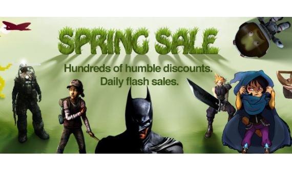 Humble Bundle Spring Sale: Walking Dead, South Park, Batman und mehr