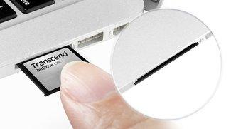 MacBook Air und Retina: SD-Slot Speichererweiterungen (Update: Jetzt verfügbar.)