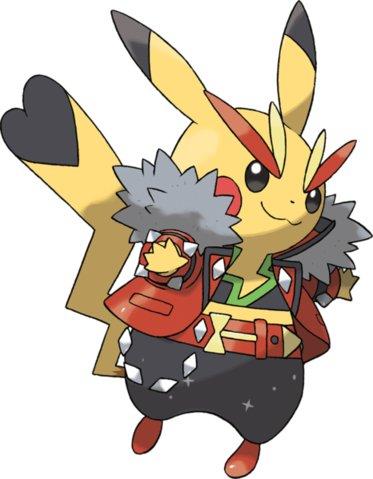 rocker pikachu