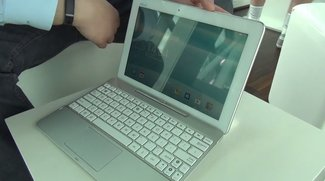 ASUS Transformer Pad TF103C: KitKat-Tablet mit Tastatur-Dock &amp&#x3B; Intel-CPU im Hands-On-Video