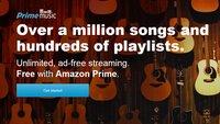 Amazon Prime Music in den USA gestartet