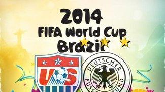 USA - Deutschland (WM 2014): Highlights, Tor, beide Teams weiter