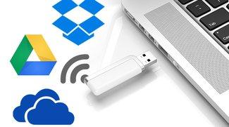 Dropbox, Google Drive und OneDrive auf externe Festplatte sichern