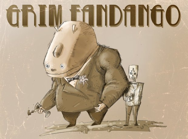 Grim Fandango: Double Fine arbeiten an HD-Remake