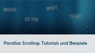 Parallax Scrolling Tutorials und Beispiele: Webseiten mal anders