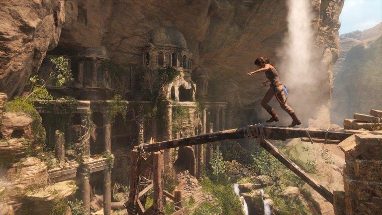 Rise of the Tomb Raider: Ruinen zum Erforschen dürfen natürlich nicht fehlen.