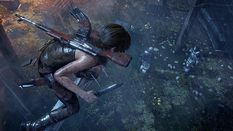 Rise of the Tomb Raider: Schleichen ist eine echte Option.