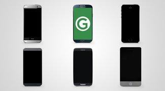 Smartphone-Konzepte vs. Realität (iPhone 5, Galaxy S5 & Co.)