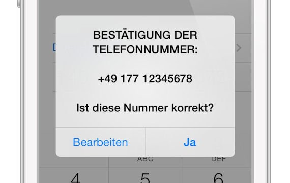 Nummer Verifizieren