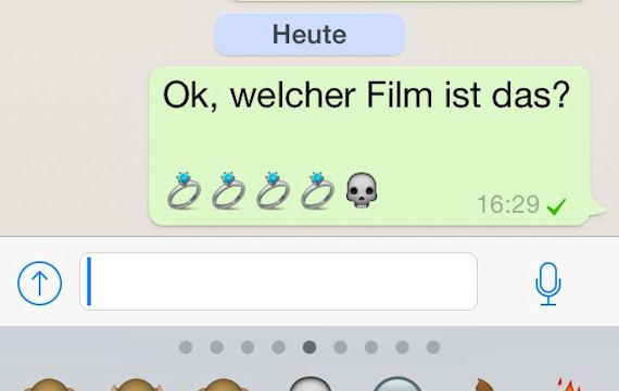 whatsapp kettenbrief spiel smiley
