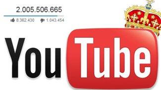 Die meist gesehenen YouTube-Videos aller Zeiten