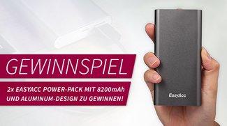 2x EasyAcc Power-Pack zu gewinnen - Gewinner stehen fest