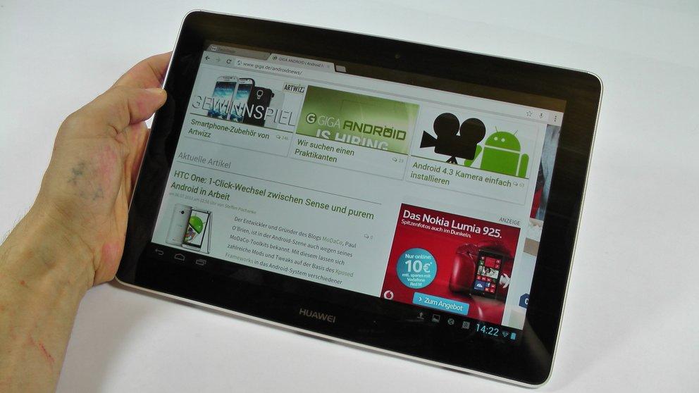 Das könnt Ihr doch besser - Huawei MediaPad 10 FHD Test