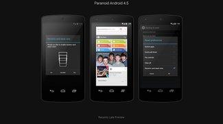 Paranoid Android: Version 4.5 mit Multitasking-Funktion á la Android L erreicht Beta-Status