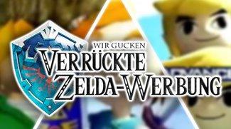 Random Video: Wir gucken alte und neue Zelda-Werbung!