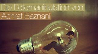 Selbstportaits und Fotomanipulation von Achraf Baznani
