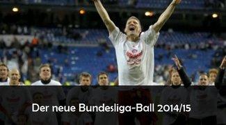 Neuer Bundesliga Ball 2014/2015: Torfabrik