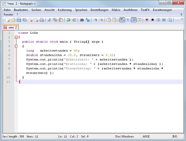 Java Programmieren Lernen Die 3 Besten Online Tutorials