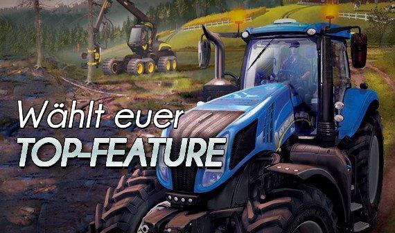 Landwirtschafts-Simulator 15: Wählt euer Top-Feature (Umfrage)
