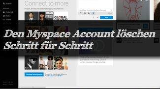Den Myspace Account löschen - so geht's blitzschnell!