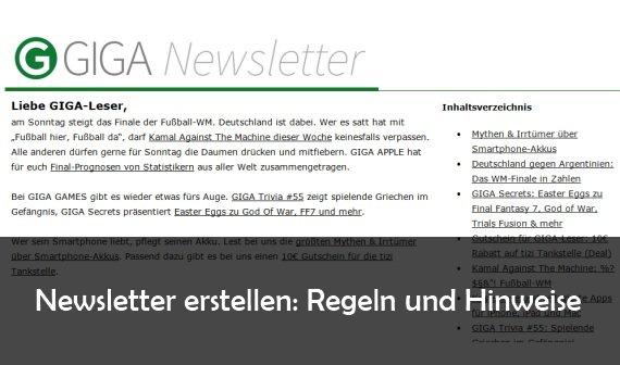 Newsletter erstellen: Tipps und Tricks für den richtigen Inhalt