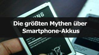 Die größten Mythen & Irrtümer über Smartphone-Akkus