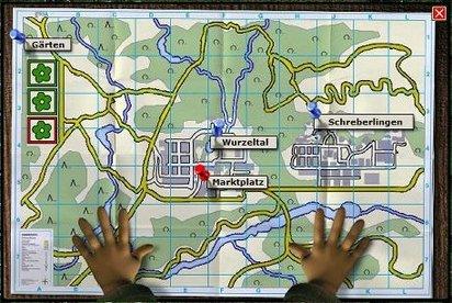 Wurzelimperium: Habt stets die strategische Karte im Blick, um die Übersicht zu behalten