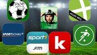 Die besten kostenlosen Fußball-Apps für Android und iOS