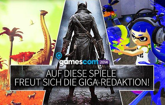 gamescom 2014: Auf diese Spiele freut sich die GIGA-Redaktion